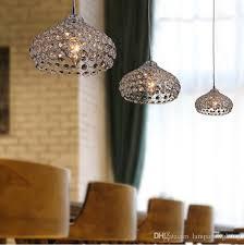 großhandel moderne chrom farbe d22cm kristall perlen einzigen pendelleuchten esszimmer pendelleuchte für zu hause leuchte landlighting 30 6