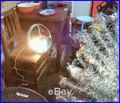 Rotating Color Wheel For Aluminum Christmas Tree by Pom Pom Silver Aluminum Christmas Tree U0026 Rotating Color Wheel