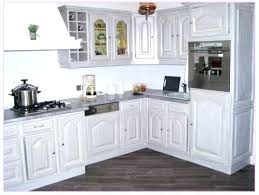 repeindre un meuble de cuisine meuble haut cuisine chene massif en 4 socialfuzz me