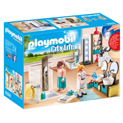 Playmobil 9268 Bathroom Playset
