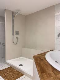 fugenlose dusche teilsanierung eines badezimmers maler