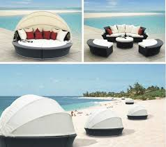 2017 Seaside Outdoor Rattan Furniture Daybed Round Bed In Garden Sofas From On Aliexpress