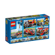 LEGO City Airport Fire Truck 60061 - £25.00 - Hamleys For Toys And Games Lego Technic Airport Rescue Vehicle 42068 Toys R Us Canada Amazoncom City Great Vehicles 60061 Fire Truck Station Remake Legocom Lego Set 7891 In Bury St Edmunds Suffolk Gumtree Cobi Minifig 420 Pieces Brick Forces Pley Buy Or Rent The Coolest Airport Fire Truck Youtube Series Factory Sealed With 148 Traffic 2014 Bricksfirst Itructions Best 2018