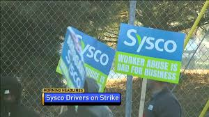 Sysco Drivers Strike For Better Pay And Better Working Conditions ... Truck Drivers For American Central Transport Get A Pay Raise Sysco Syscos Secret Food Stored In Unrefrigerated Sheds Across Us And Great Dividend Stock Retirement Los Angeles Iowa Foodservice Distributor Ankeny Facebook 18 Driver Jobs N 600 450 Amster Drivers Strike At Center Better Pay Working Cditions Shippers Choice Cdl Traing Google Halliburton Truck Driving Find John Petrossian Vice President Operations San Diego Inc Syscous Foods Mger Stopped