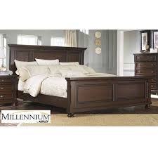 Ashley Porter Bedroom Set with Rustic Theme