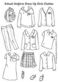 Toddler Dress Up Clothes Clipart
