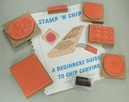 chip carving stamp n chip kit for beginners chippingaway