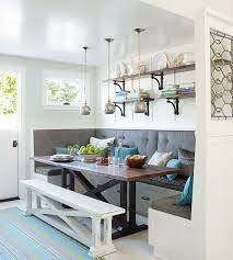 Banquette Style Breakfast Nook