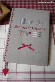 cahier de cuisine à remplir secrets de cuisine l atelier de maraline
