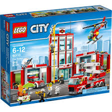 LEGO City Fire Station (60110) - Toys