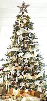 Classy Christmas Tree Decorations Rustic Decorating Ideas Country Themed Elegant Topper