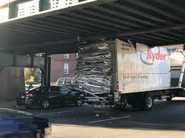 100 Box Truck Rentals Brady Street Bridge Strikes Again Eating Box Truck
