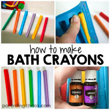 how to make homemade bath crayons