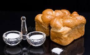 le de cristal de sel avec le récipient en cristal de sel photo stock image 66655553