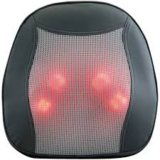 Back Massage Pads For Chairs by Advantus Corp Memory Foam Massage Lumbar Cushion Walmart Com