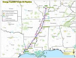 The Energy Transfer Crude Oil Pipeline ETCOP Is A Converted Gas That Will Transport Bakken From Illinois To Texas Gulf Coast
