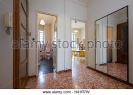 Interior In Modern Style Entrance Normal Apartment With Tiled Floor
