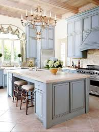 our ultimate kitchens blue kitchen cabinets light granite and