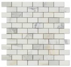 gold marble brick tile honed 1x2 mosaic tile marble from italy