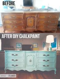 Diy Chalk Paint Dining Table In Unusual Tvstanddiptic Diy Chalk