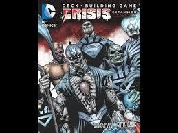 dc comics deck building game crisis expansion pack 2 review