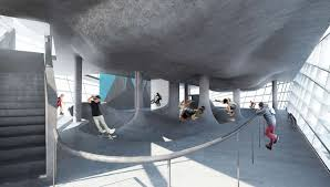 100 The House Skate Park Architecture Guy Hollaway Architects