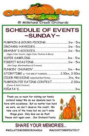 Spring Hope Pumpkin Festival Schedule by On The Road