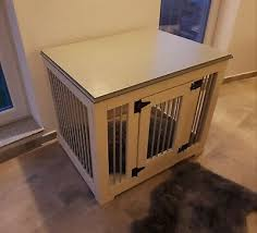 hundekäfig hundebox holz hundehütte hund kommode sideboard