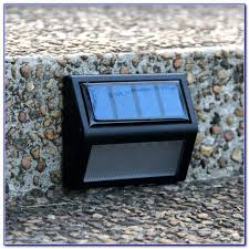 Solar Lights For Deck Stairs by Solar Deck Lights For Steps Decks Home Decorating Ideas