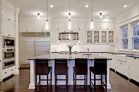 kitchen pendant lighting over stove Sweet and Romantic Kitchen