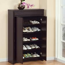 Baxton Simms Shoe Cabinet by Amazon Com Shoe Cabinet With Storage Drawer Includes Five Shelves