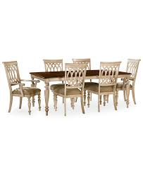 Macys Outdoor Dining Sets by Dovewood Dining Room Furniture 7 Piece Set Table 4 Side Chairs