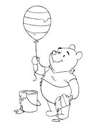 Free Printable Disney Coloring Pages For Easter And Winnie The Pooh Eggs