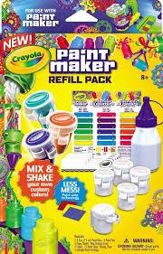 Crayola Bathtub Crayons Refill by Amazon Com Crayola Paint Maker Refill Packs Toys U0026 Games