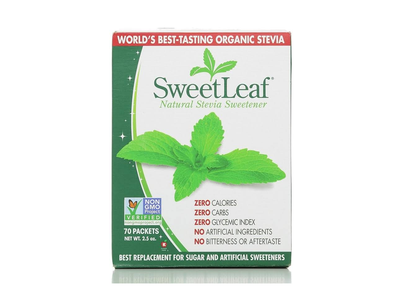 SweetLeaf Natural Stevia Sweetener - 35 Packets