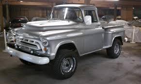1957 Chevrolet Apache 3100 Short Bed Stepside | Autos | Pinterest ... Happy 100th To Gmc Gmcs Ctennial Truck Trend 1957 Pickup For Sale Classiccarscom Cc9975 1958 Gmc For Bgcmassorg Cc Capsule 1956 Dont Judge A By Its Grille Super Rare 12 Ton Big Back Window Factory V8 Napco 1959 Chevy Bigwindow Stepside Shortbed Ca Hotrod Shop Truck S Flickr Dans Garage 100 Show Truck Resto Mod Ncours De Elegance 9300 Cc999867