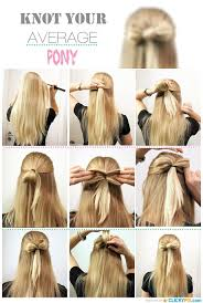 DIY Hair Tutorials Step By Guides