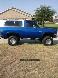 Lifted Royal Blue Chevrolet Truck | I Like 'em Big & Fast ...