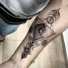 Geometric Tattoos Original And Creative Ideas Based On Geometry