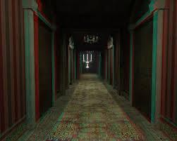 Garrys Mod Disney World Haunted Mansion Hallway 3D Anaglyph