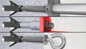 cheville métal pour béton cellulaire 5façades