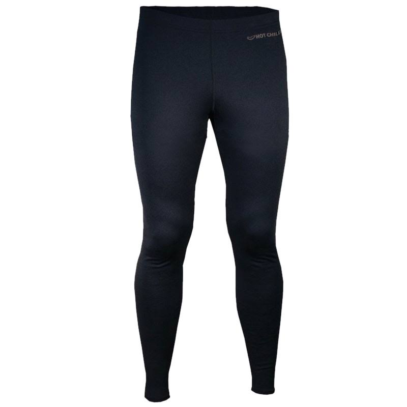 Hot Chillys' Men's Micro-Elite Chamois Tights - Black - S