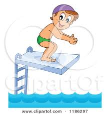 Pool Clipart Diving Board 5