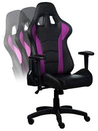 Amazon.com: Cooler Master Caliber R1 Gaming Chair - Purple And Black ...