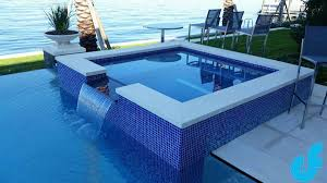Swimming Pool Mosaics And Glass Tile Ideas