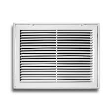 everbilt 24 in x 24 in aluminum fixed bar return air filter
