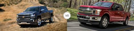 2018 Chevrolet Silverado 1500 Vs 2018 Ford F-150 | Compare Specs ...