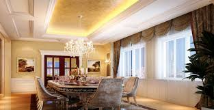 Luxury Dining Room Quality Materials