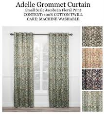Jacobean Floral Design Curtains by Floral Scroll Embroidery Jacobean U0026 Paisley