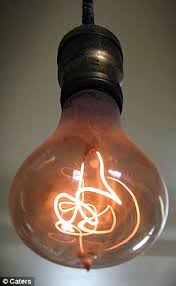 still glowing strong after 109 years the world s oldest lightbulb